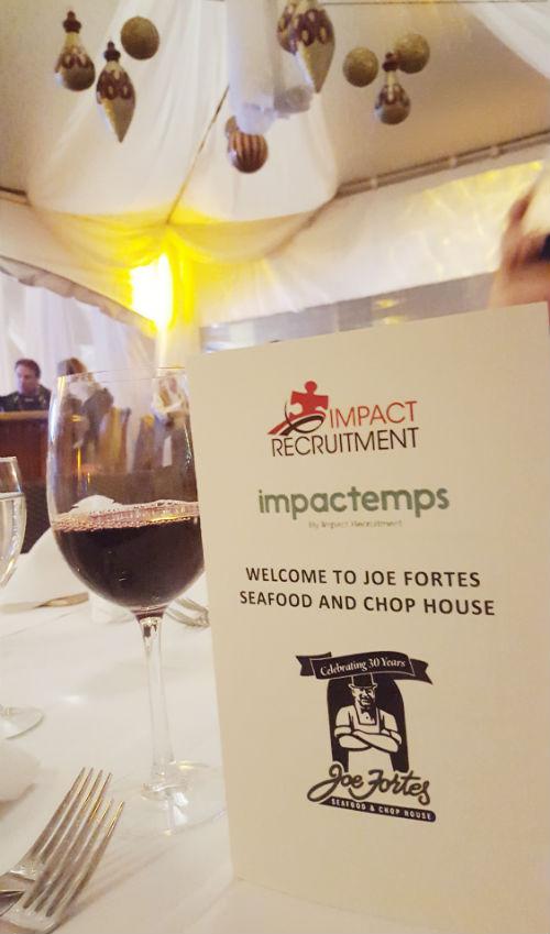 Impact Recruitment x Joe Fortes