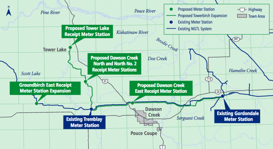 Towerbirch pipeline expansion gets conditional green light