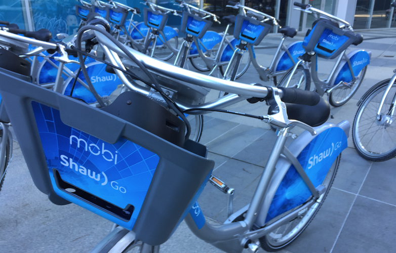 Shaw's partnership with Mobi bike-share is a win-win deal