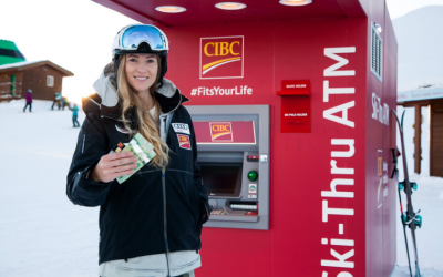 CIBC launches ski-thru ATM at Whistler Mountain