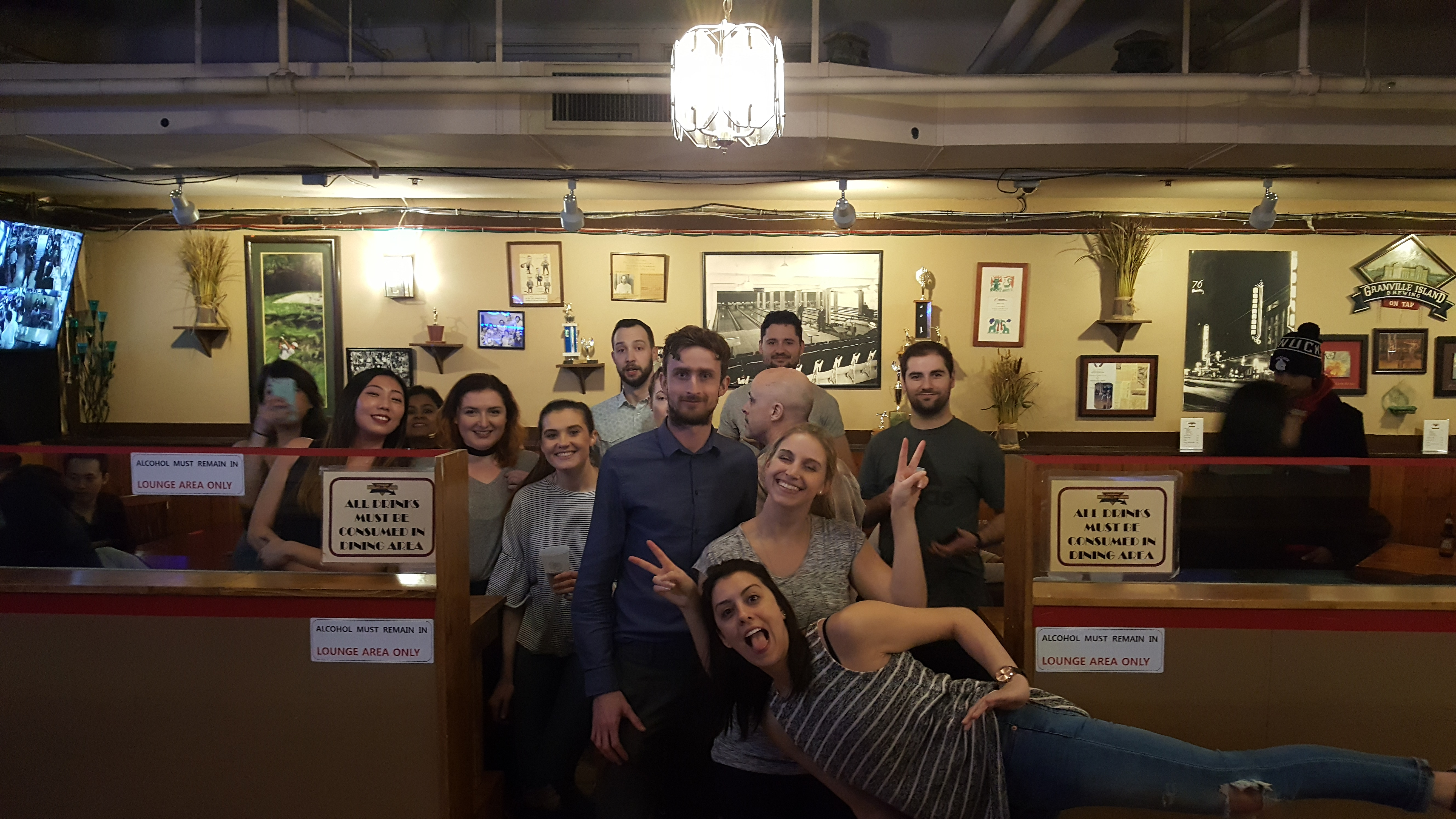 20170217 183356 - Impact night out: pizza, bowling and beer!