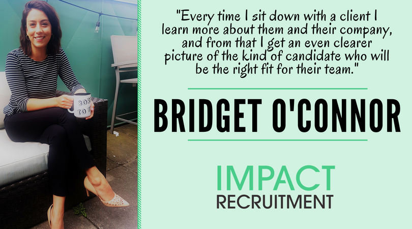 Meet the Team – Bridget O'Connor