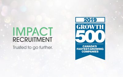 Impact Recruitment is one of Canada's Fastest-Growing Companies for fourth year in a row