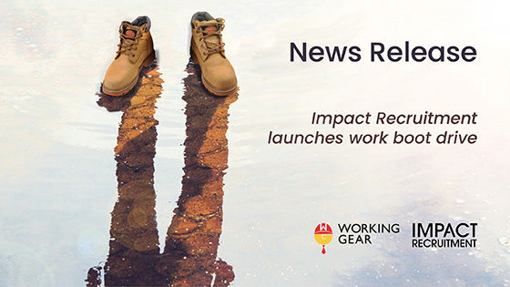Working Gear Boot Drive News Release
