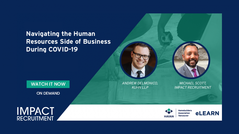 Navigating the Human Resources Side of Business During COVID-19